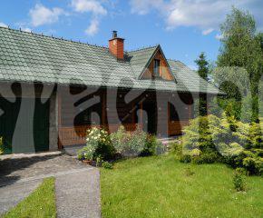 Dom z bali-Siepraw