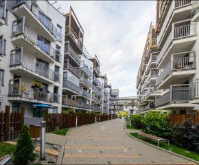 Mieszkanie w nowoczesnym bloku
