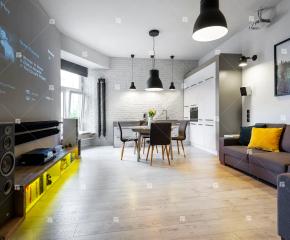 Nowoczesne mieszkanie w ścisłym centrum Krakowa