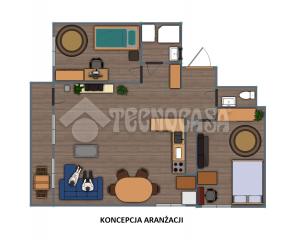 Kraków - Grzegórzki - 3 - pokoje - balkon - MPEC