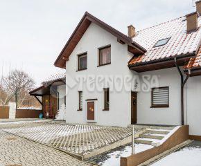 Sułków – gm. Wieliczka – Dom z ogrodem