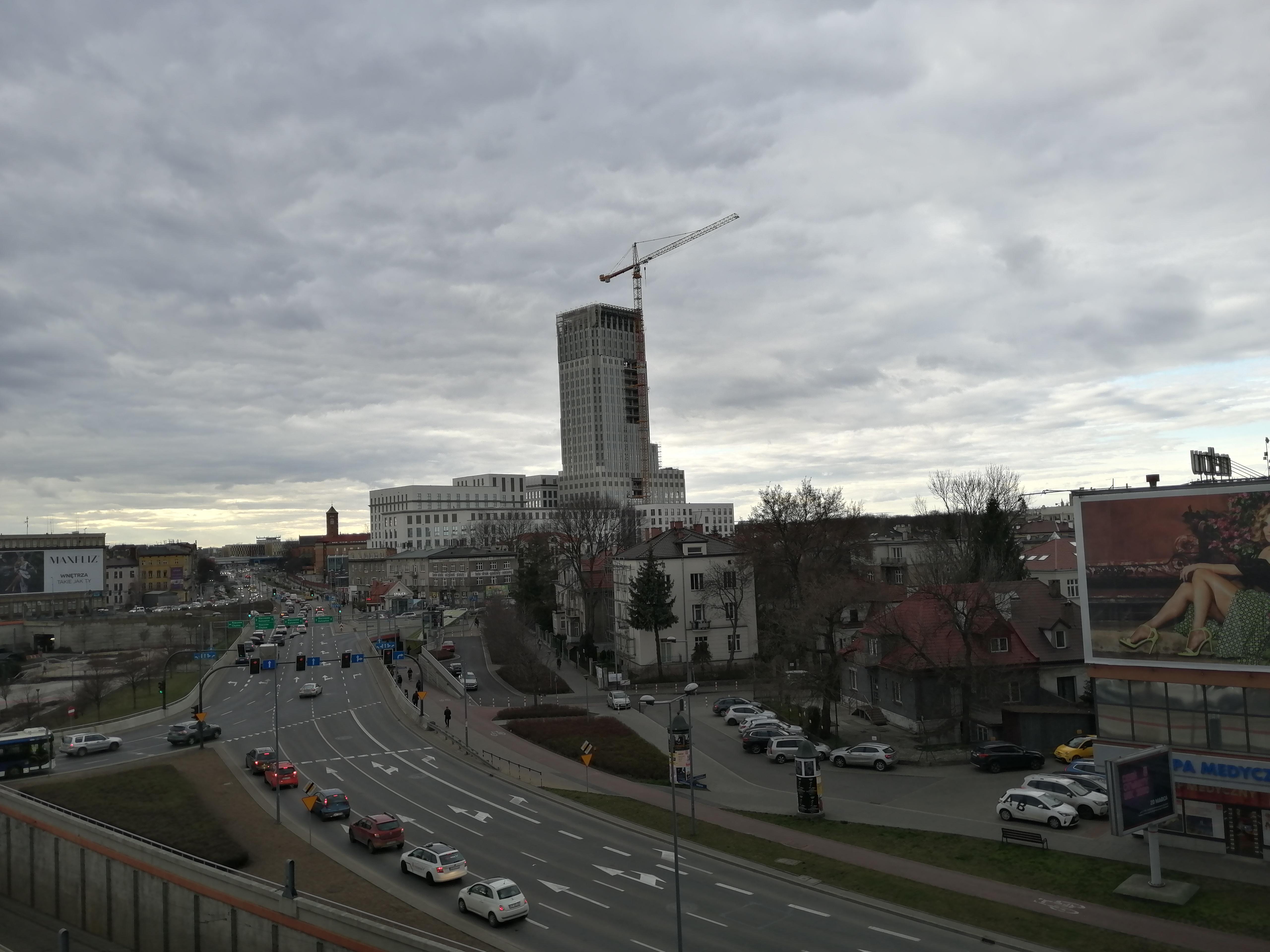 Kraków, Grzegórzki, ul. Mogilska