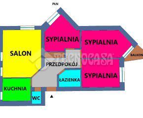 Kraków – Nowa Huta – os. Na Skarpie – 72 m2
