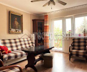 3 pokoje z dużym balkonem
