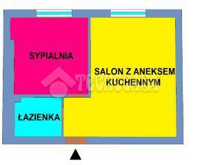 Kraków – Nowa Huta – os. Willowe - 34 m2