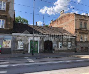 Kraków – Stare Podgórze – ul. Kalwaryjska – Parterowa kamienica