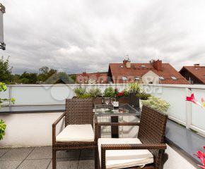 Widokowe mieszkanie w centrum Woli Justowskiej