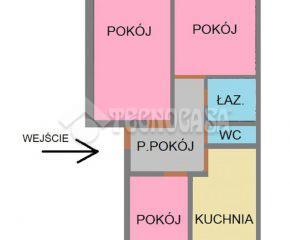 Kraków – Osiedle Podwawelskie – ul. Słomiana – 49,3 m2