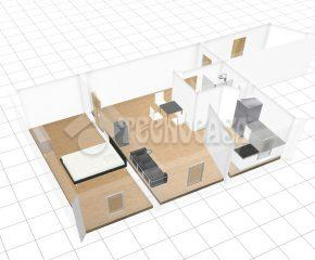 Klimatyczne mieszkanie z osobna sypialnią!