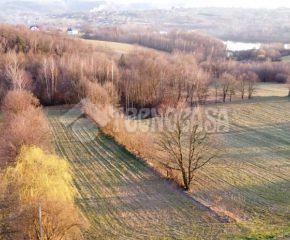 Działka w sąsiedztwie jeziora Dobczyckiego