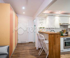 2 pokoje - rozkładowe mieszkanie